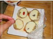 蟹黄山菇滑蛋羹的做法