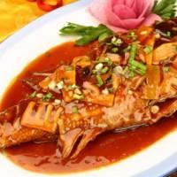 阳澄湖红烧桂鱼