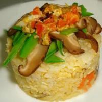 蟹肉寿司饭