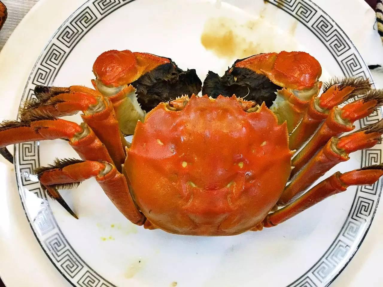 美味的阳澄湖大闸蟹,很鲜美,公蟹很不错哦~