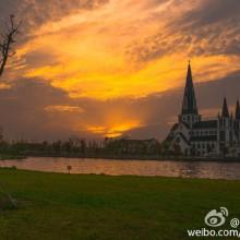 Suchow教堂,新区基督教堂,阳澄湖天主教堂,独墅湖哥特建筑风格教堂