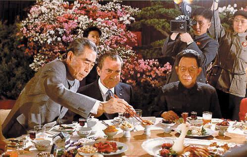 尼克松访华 宴会 周恩来