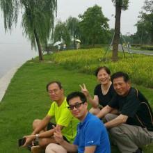 苏州来打打球,吃吃阳澄湖大闸蟹。看看风景,真开心啊!