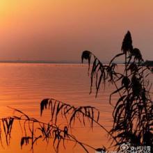阳澄湖的大闸蟹味美,但阳澄湖的夕阳风光更美。