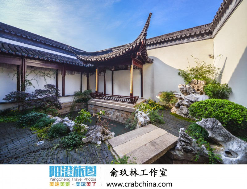 俞玖林工作室后院