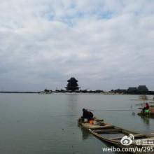 冬季的阳澄湖。