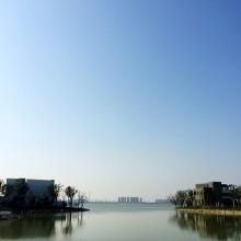阳澄湖畔~晒太阳