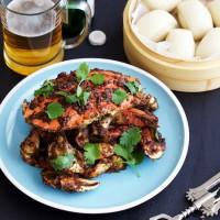 新加坡黑胡椒蟹烹饪三部曲之炸蟹