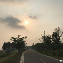 阳澄湖晨跑