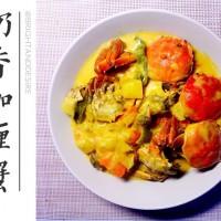 奶香咖喱蟹的做法