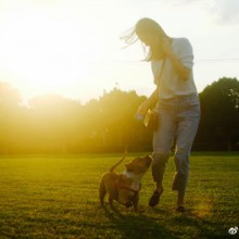 阳澄湖畔,落日斜晖。我们仨。