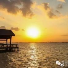 #最美苏州#你看!这个季节,阳澄湖的夕阳,是大闸蟹的颜色…… 