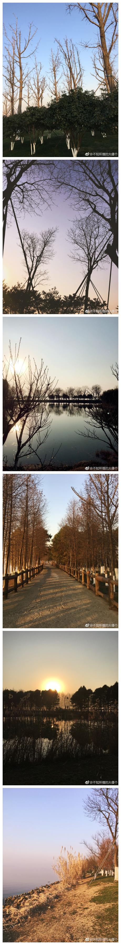 第一次来阳澄湖,真心贼美啊!最近忙着准备期末,好久没更新了啊,赶紧趁老师不在,赶紧给你们更新下。[挤眼][挤眼][挤眼]