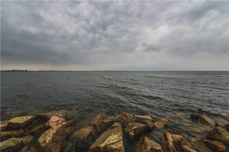 阳澄湖的云