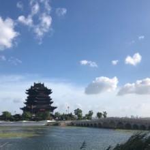 台风过后的阳澄湖