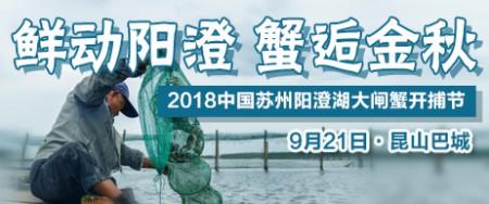 2018年中国苏州阳澄湖大闸蟹开捕节-中蟹网特别报道