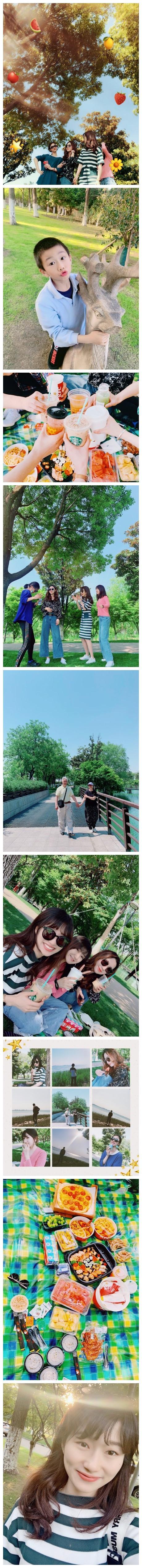 劳动节回家三天,带了我弟两天~和好朋友们一起野餐啦,阳澄湖的景色很美,野餐小分队就此成立了。在湖边碰到了一个老爷爷,一直在帮老奶奶拍照,最后跑上去帮他们拍了合影,奶奶走时还特地跑到我旁边说谢谢。爱一个